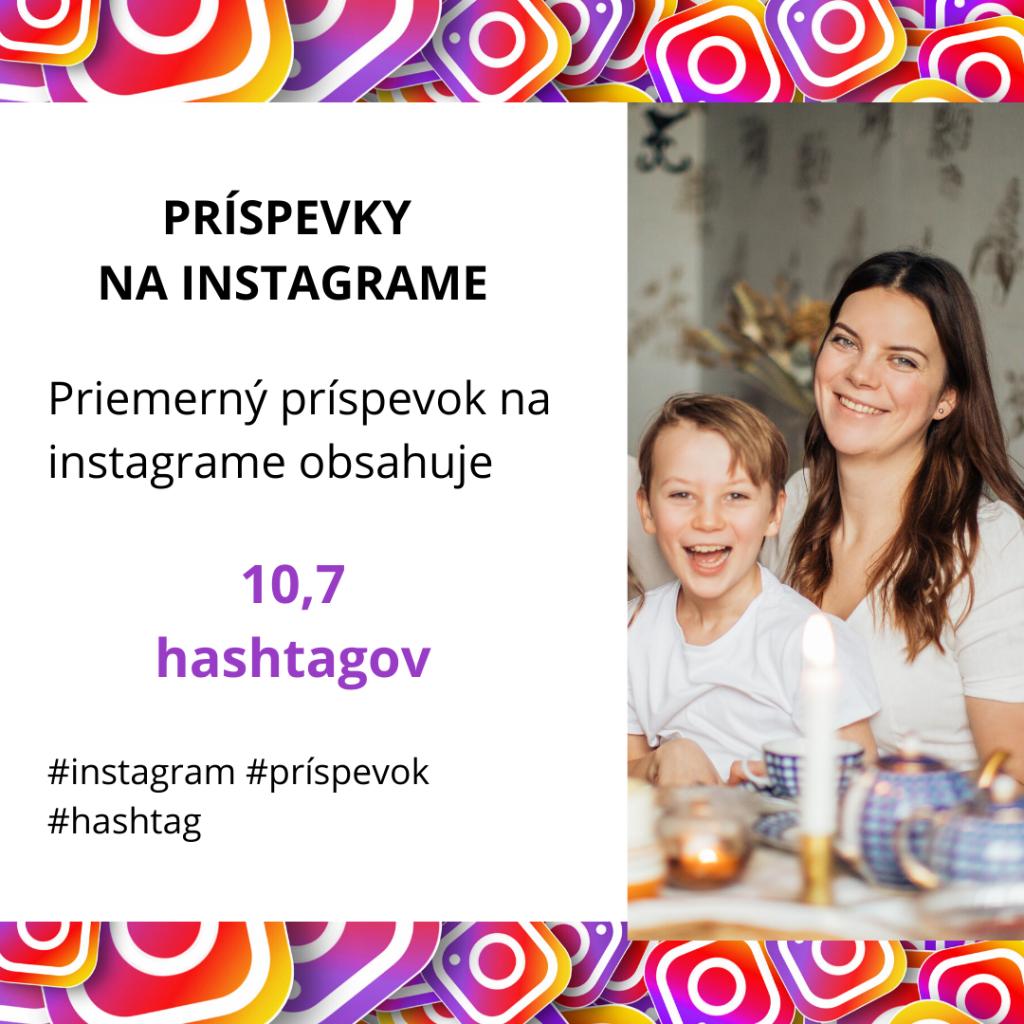 prispevky na instagrame