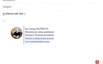 podpis v maili